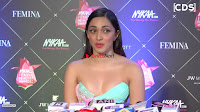 Kiara Advani in a Beautiful Strapless Gown Stunning Beauty at an Award Show ~  Exclusive Galleries 009.jpeg
