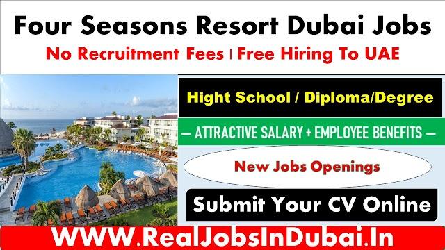 Four Seasons Dubai Careers Hotel Jobs – 2020