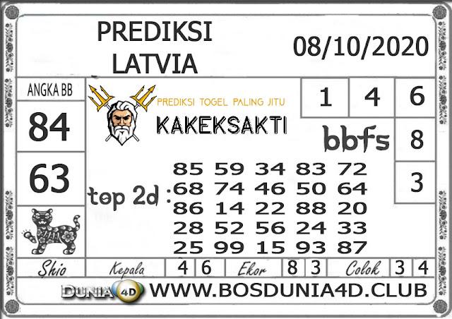 Prediksi Togel LATVIA DUNIA4D 08 OKTOBER 2020