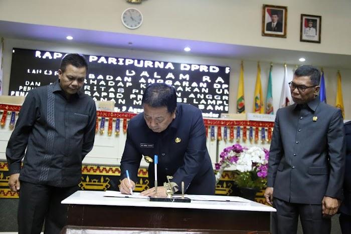 DPRD dan Provinsi Sepakati KUA-PPAS Perubahan APBD Lampung 2019