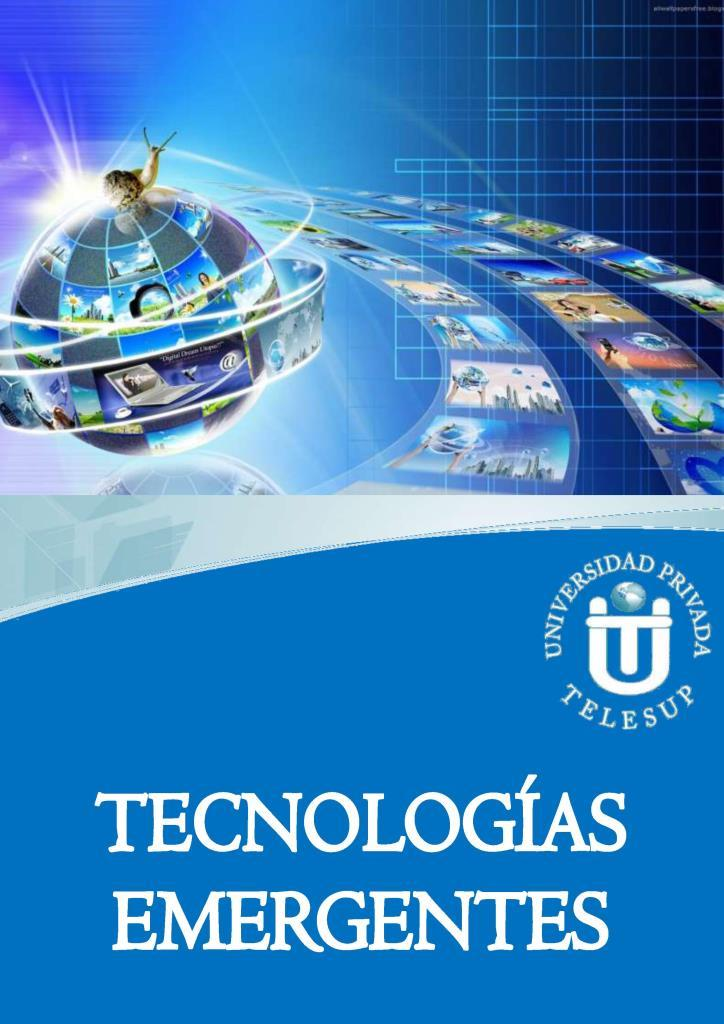 Tecnologías emergentes – TELESUP