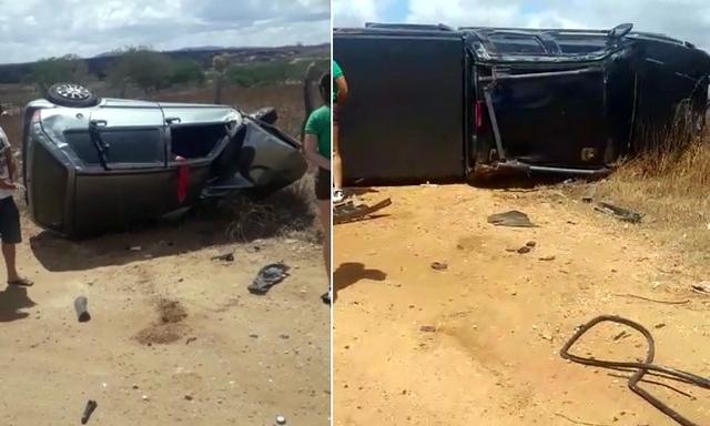 Idoso morre em grave acidente na PE-160, no Sítio Poço da Lama
