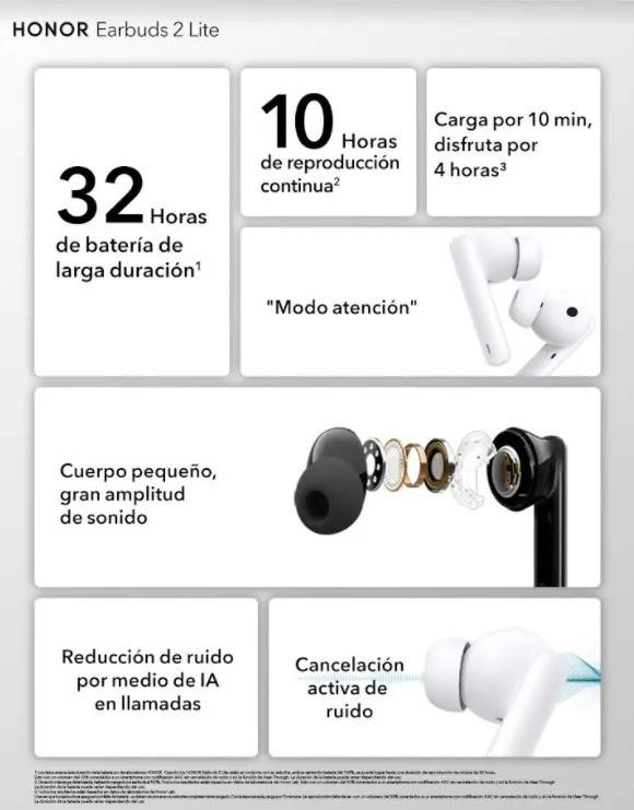 HONOR EARBUDS 2 LITE EN PERÚ