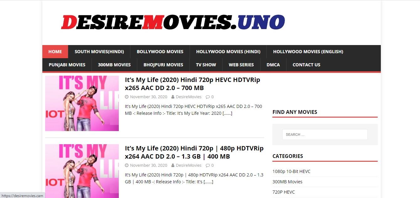 Desiremovies - Download Free All Latest Bollywood, Hollywood, Tamil, Telugu, Kannada Movies And Web Series