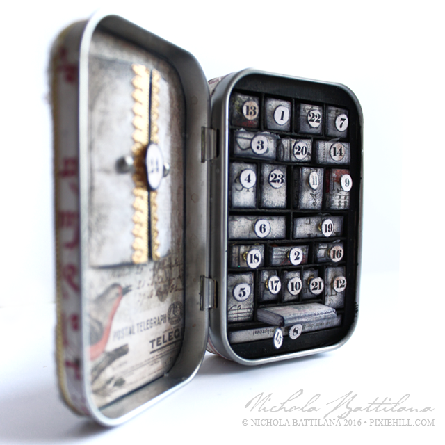 Altoid Advent Calendar - Nichola Battilana