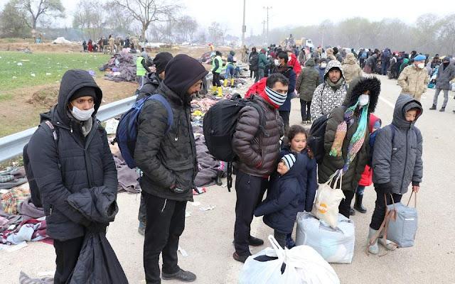 Σε καραντίνα στην Τουρκία οι μετανάστες που απομακρύνθηκαν από τον Έβρο