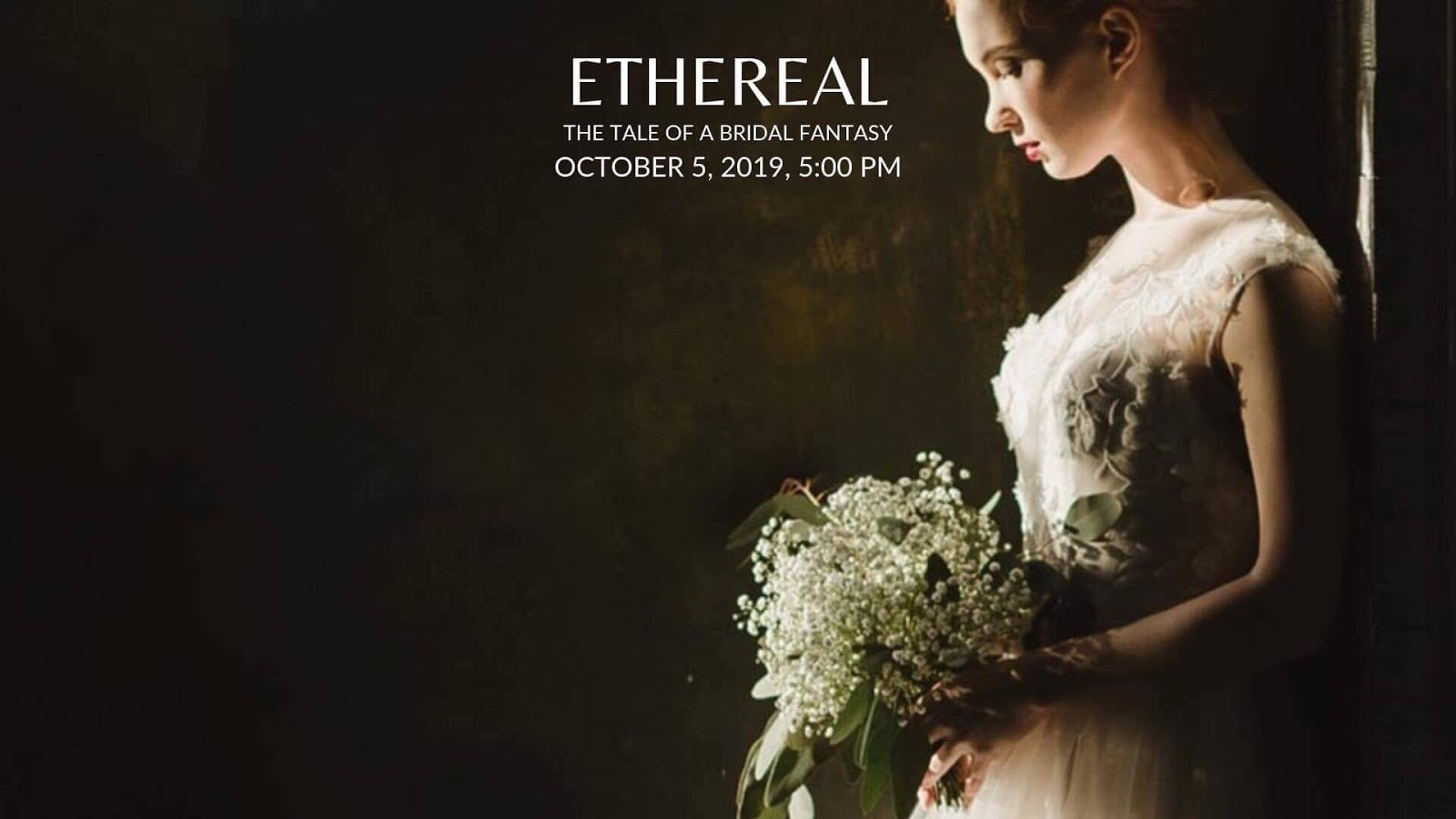 RYAN CHRIS' ETHEREAL BRIDAL FASHION SHOW FOR A CAUSE