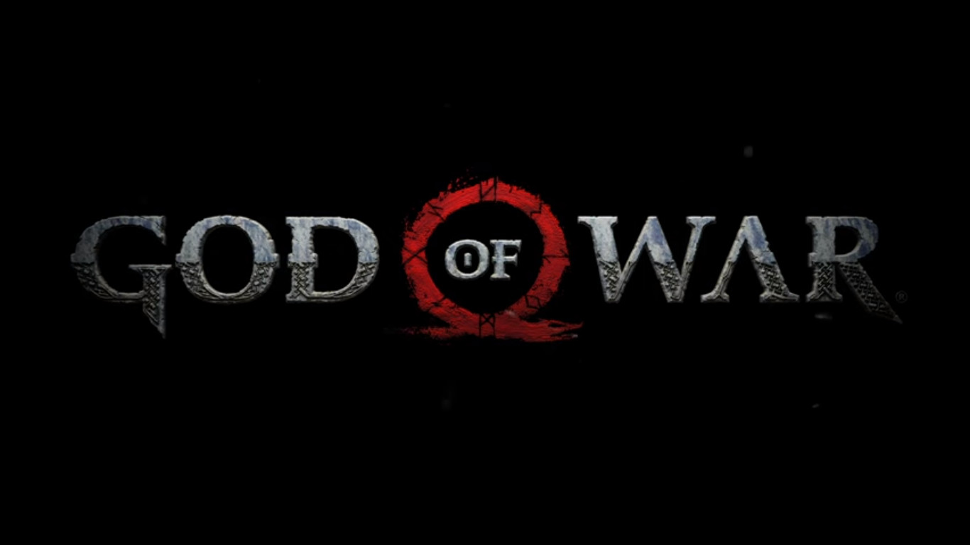 God of War Electronic Entertainment Expo 2016 gameplay trailer reveal title card