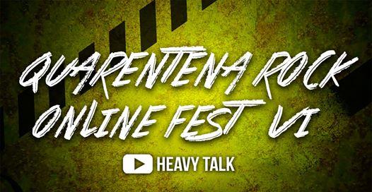 Conheça as Bandas: Quarentena Rock Online Festival VI