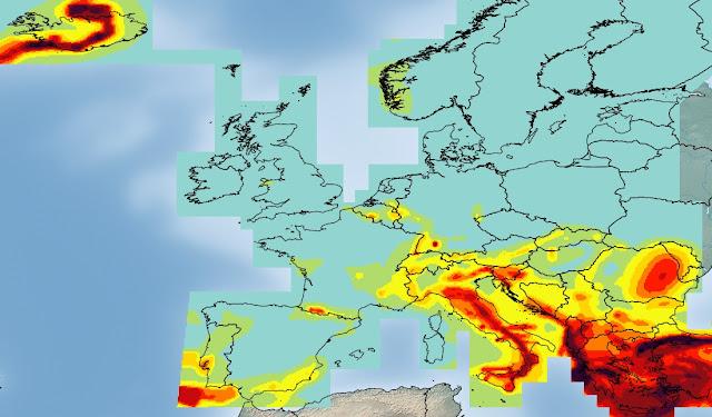 Riesgo sísmico en Europa