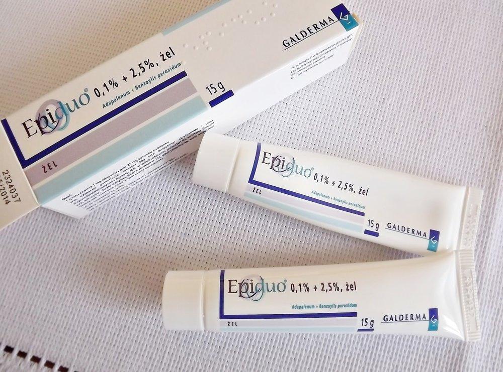 Epiduo là sản phẩm trị mụn của hãng Galderma, Pháp