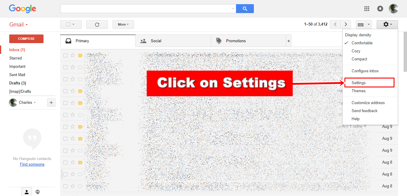 how to change sign in settings on gmail account
