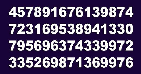 """Imagen de Brevemente localiza el número """"343"""" 12"""