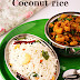 Coconut rice / Thengai sadam / Thengai sadham / Recipes with video