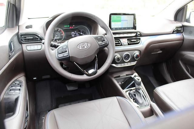 New Hyundai HB20 2020 - painel