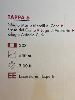 Sixth leg of Sentiero delle Orobie - Tito Terzi Exhibit