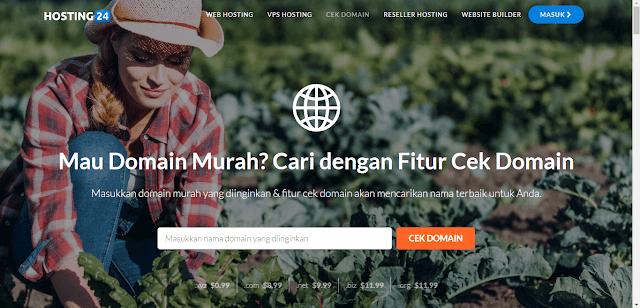Hosting24 - Web Hosting Indonesia Premium Dengan Harga Terjangkau