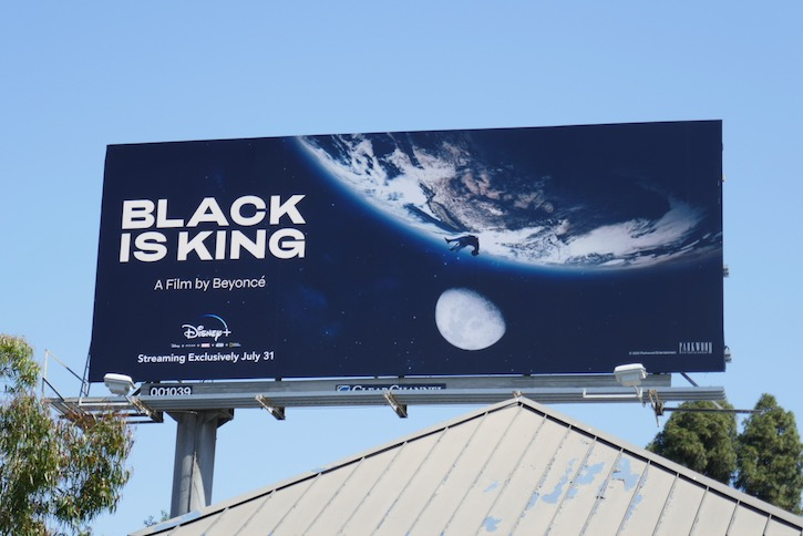 Black Is King film billboard