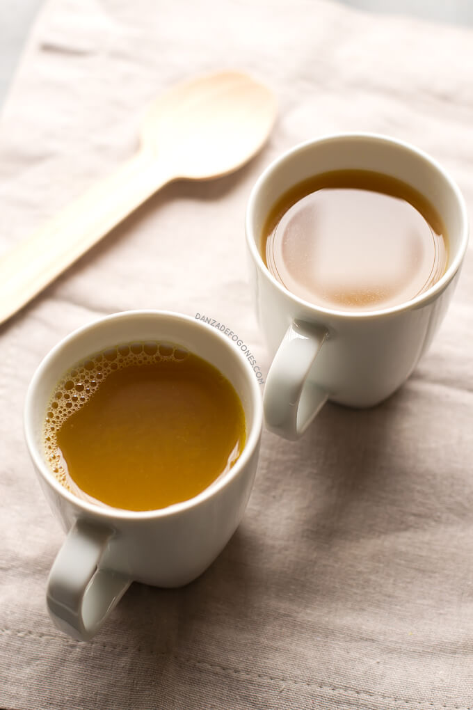It was purifying Vegetable Broth. This purifying vegetable broth is very diuretic, detoxifying and helps us cleanse our body. It has hardly any calories and is very easy to prepare | danceofstoves.com #DanceofStoves #vegan #withoutgluten