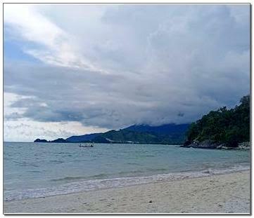 Pantai Minang Rua Kabupaten Lampung Selatan
