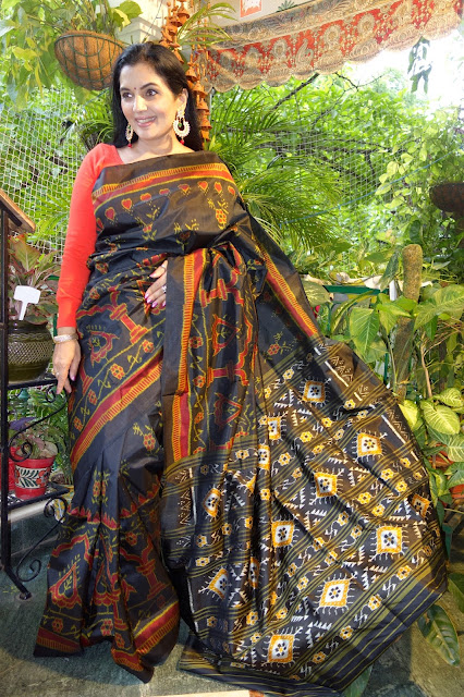 Sambalpuri silk saree - 4
