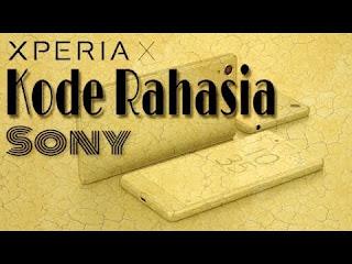 Sony merupakan salah stau perusahan yang bergerak dalam dunia digital Kode Rahasia Sony Wajib Masuk