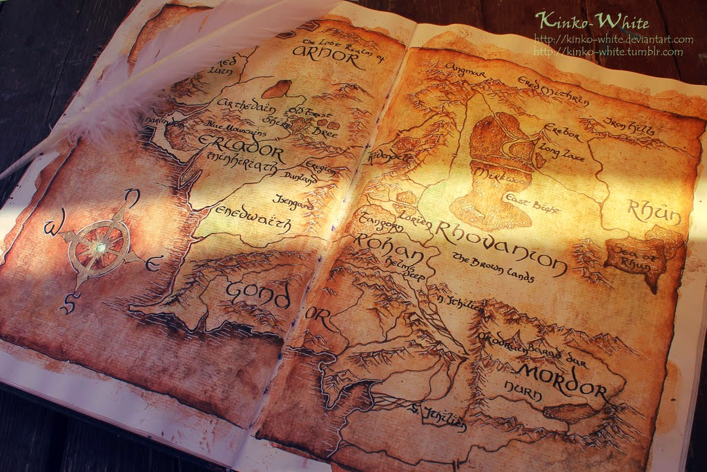 12-Map-of-Middle-Earth-Kinko-White-The-Hobbit-Watercolors-www-designstack-co