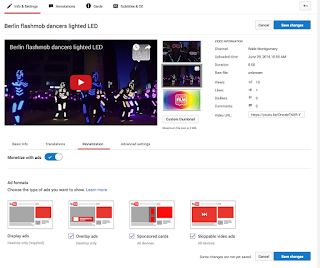 Now you can monetize your video