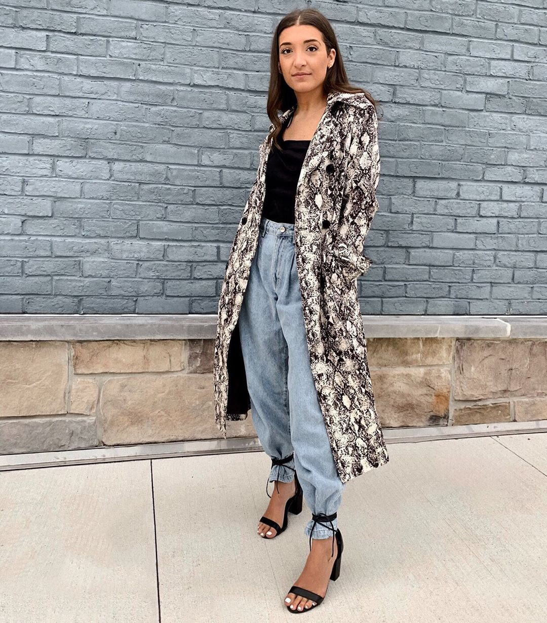 We're Obsessed With Animal Print Coats and You Should Be Too