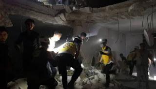 Serangan Udara Rusia Bunuh Dan Lukai Belasan Sipil Mayoritas Anak-Anak Di Aleppo