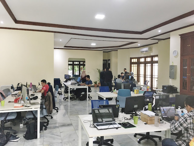 pertumbuhan bisnis qlue selama 2019