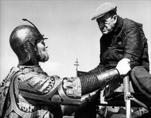 El rodaje de El Cid en España