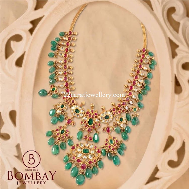 Kundan Necklace from Bombay Jewellers