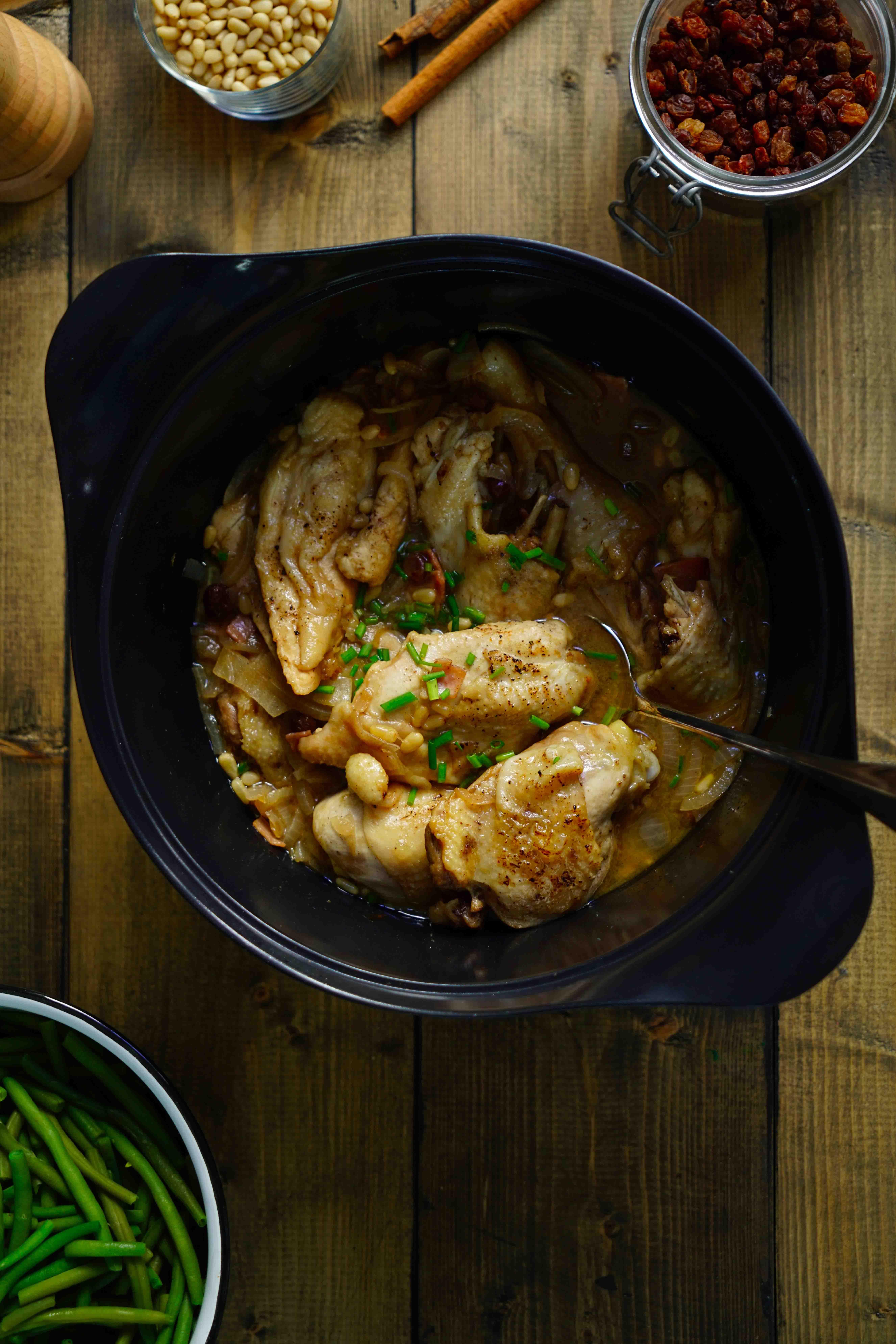 poulet cuisiné