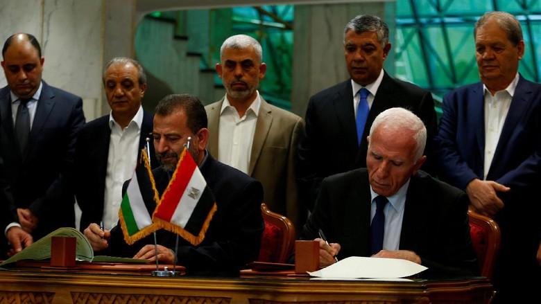 Fatah Minta Hamas Pertahankan Komitmen Rekonsiliasi