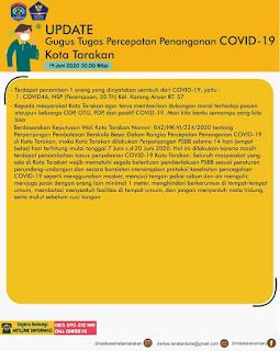 Press Release COVID-19 Tarakan 14 Juni 2020 - Tarakan Info