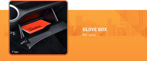 Glove Box Toyota Sienta
