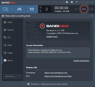 Download Bandicam 4.4.2 Final Terbaru Full Version Crack Patch Serial Number