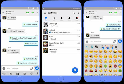 BBM MOD Android Seperti BBM IOS v3.2.0.6 APK Vrsi Terbaru
