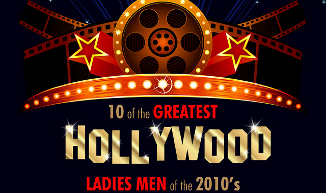 Top 10 Hollywood's Ladies Men