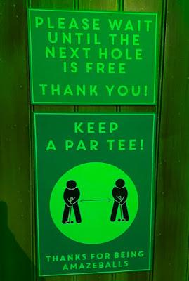 Mr Mulligans Lost World Golf Stevenage. Photo by Raquel Xavier, July 2020