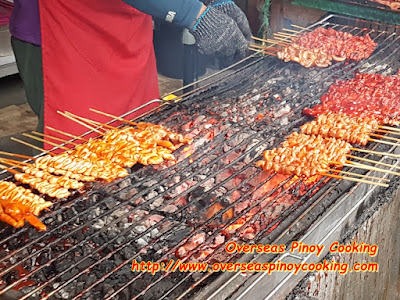 Mang Raul's BBQ Cooking