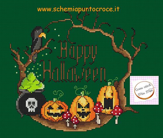 Halloween and Cross- Stitch