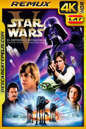 Star Wars: episodio V el imperio contraataca (1980) 4k BDRemux HDR Latino – Ingles