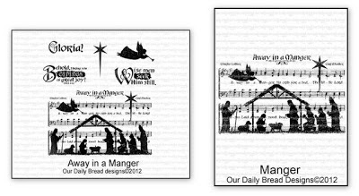 Our Daily Bread Designs Away in a Manger, Manger Single