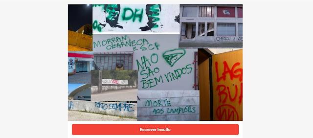 Mural dos Insultos - Mais insultos, menos vandalismo!