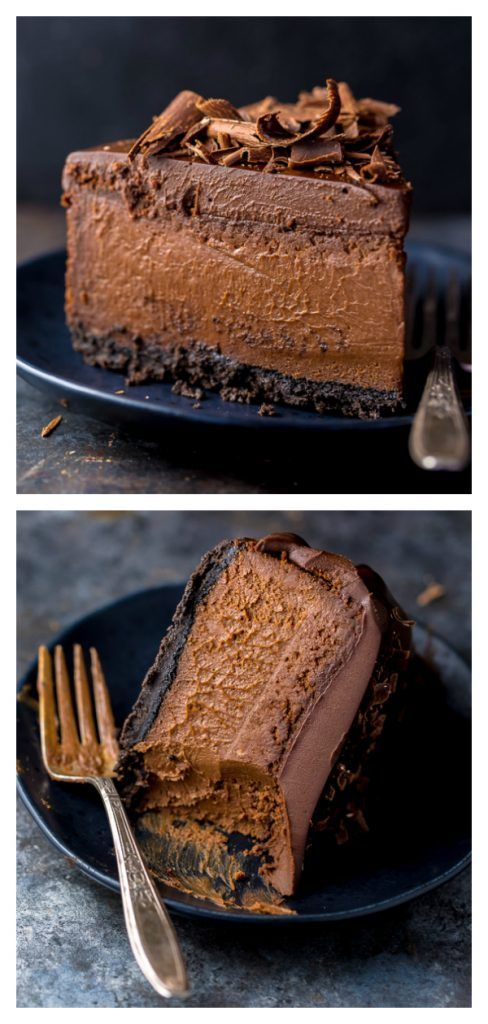 Ultimate Chocolate Cheesecake #chocolatecheesecake #cheesecake #chocolate #easy #oreocrust