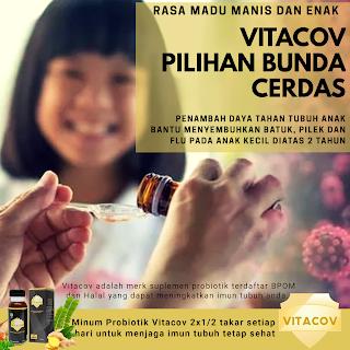 Bunda Cerdas Pasti Memberikan Suplemen Vitacov untuk Anak
