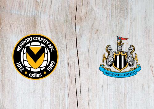 Newport County vs Newcastle United -Highlights 30 September 2020