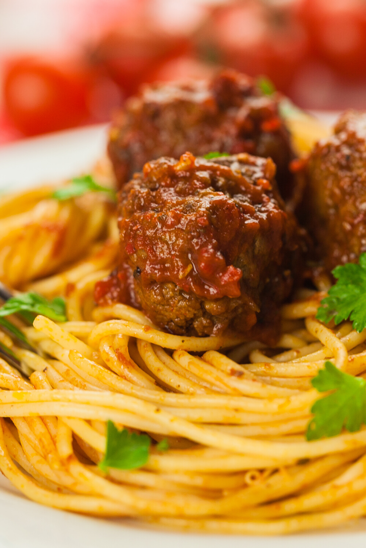here my favorite #meat #recipe is The Best #spaghetti and #eatballs #Recipe #spaghettisauce #meatballs #Italian #marinara #meatrecipes #meat #recipes #porkrecipes #meatloaf